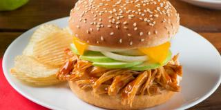 Barbecue Chicken Apple Sammies by the Wilson Family