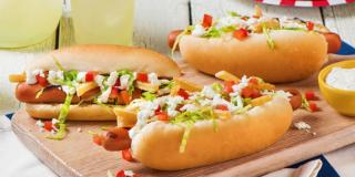 Gyro Hot Dogs